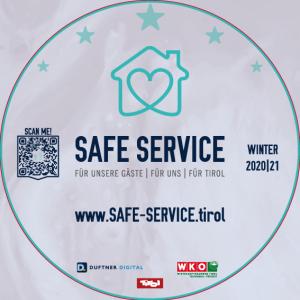 Sticker für Safe Service