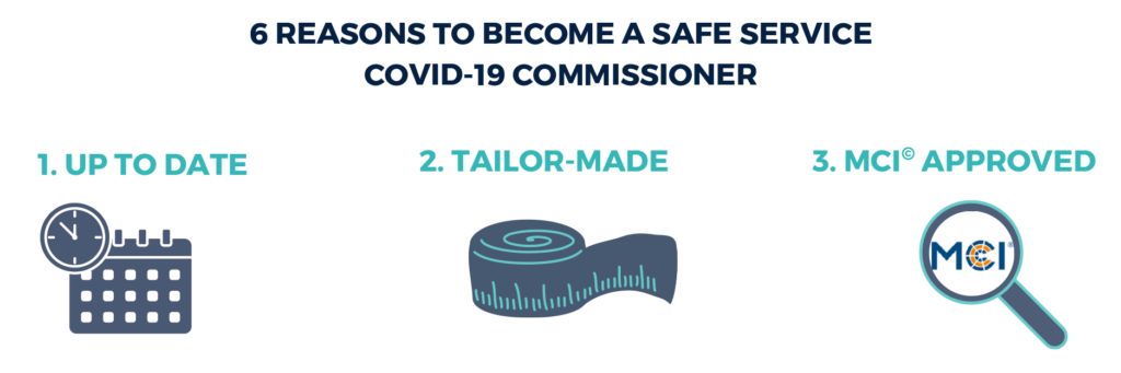 reasons 1-3 for becoming a covid-19-commissioner